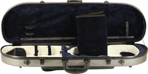 Cs024N half moon shape hard violin case